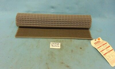"Intralox Flush Grid Friction Top Conveyor Belt, Series 1100, 24"" X 3'"