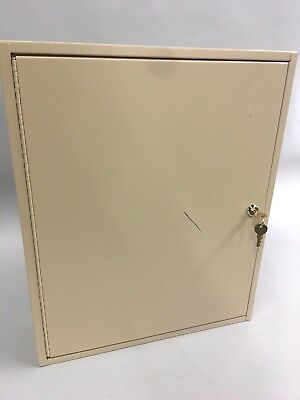 MMF INDUSTRIES Key Cabinet Two Tag,120 Key Cabinet,Sand  201812003