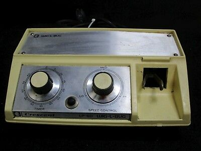 Used Crescent LP-60 Dental Lab Amalgamator Mixer for Amalgam Capsules