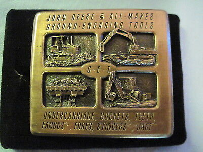 1994 JOHN DEERE Limited Edition ALL MAKES ENGAGING TOOLS Belt Buckle 1/500