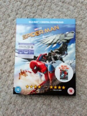 Spider-Man: Homecoming  [Blu-Ray] New