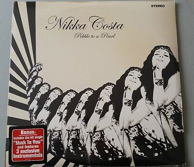 "Nikka Costa ""Pebble to a Pearl"" 2LP  vinyl sealed"