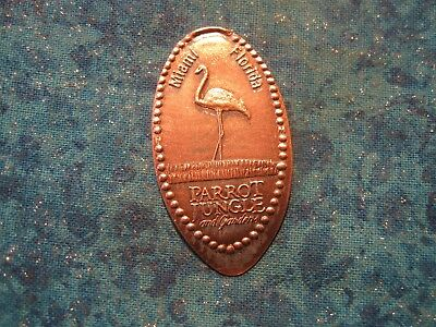 PARROT JUNGLE & GARDENS MIAMI FLORIDA Elongated Penny Pressed Smashed 22