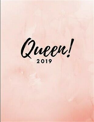 Queen! 2019: Year Diary Calendar Planner (Large Week to View Agenda Book from Ja