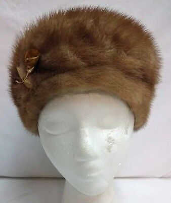 Vintage The French Room Marshall Field & Company Fur Hat
