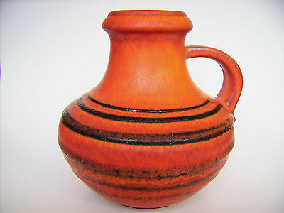 Keramik Vase Scheurich 423-18 Fat Lava Pop Art West-Germany pottery WGP vintage