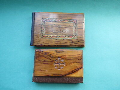 Olivewood Cover Books  Flowers from the Holyland & New Testament  Jerusalem
