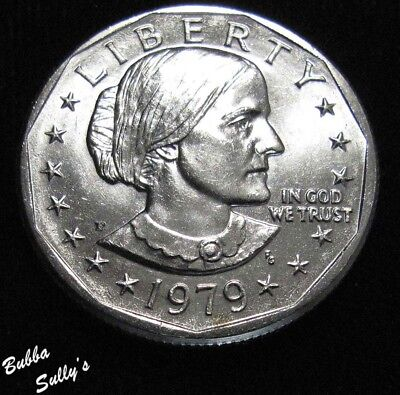 1979 P Susan B Anthony Dollar <> UNCIRCULATED