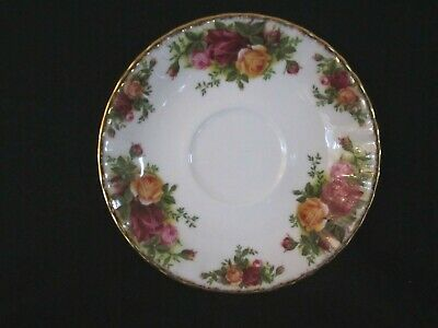 Royal Albert - OLD COUNTRY ROSES - Demi-tasse Saucer - Made In England