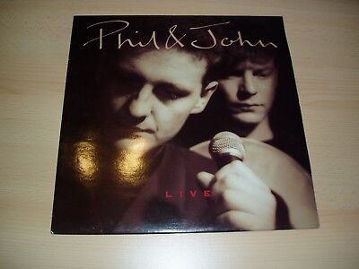 Phil & John: Live (LP 1990) Folk, World, Country - What ? Records WHAR 1269
