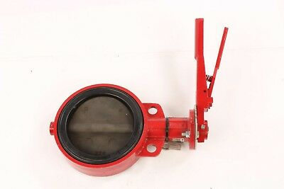"Series 30 Wafer Bray 6"" 175 PSI Cast Iron Butterfly Valve"