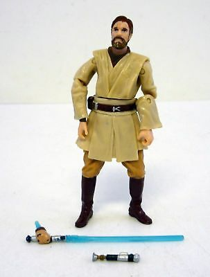STAR WARS OBI-WAN KENOBI Revenge of the Sith Action Figure COMPLETE 2005