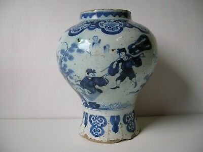 ancien vase faience delf(chine,japon