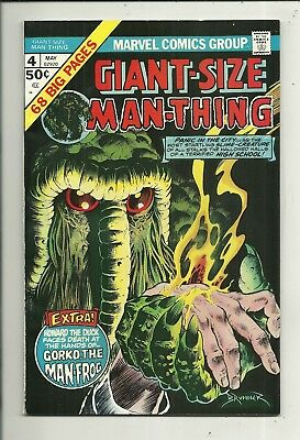 Giant-Size Man-Thing # 4 Very Fine Plus Condition!! Starts at $2