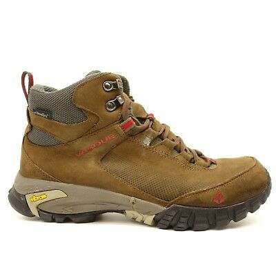 66fb8ae4cd8 VASQUE MENS TALUS Trek Mid UltraDry Brown Leather Athletic Hiking Boots  Size 9