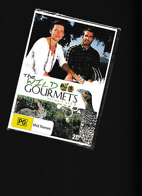 NEW/SEALED:The Wild Gourmets Series one and Two 2 DVD Set - UK