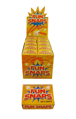 50 Boxes Of Fun Snaps Bangers Joke Gag Funny Party Throw Down Bag Fillers Loot
