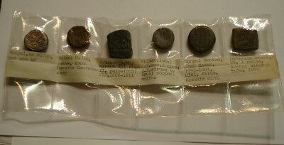 6 piece Mix ancient coins of India INTERSTING GROUP