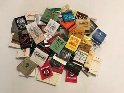 Lot Of 67 Assorted Vintage and Current Matchbooks