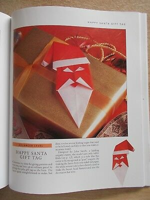 Discover Origami~Rick Beech~40 Original Projects~Table~Christmas~Gifts~112pp P/B