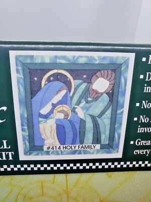 Quilt Magic HOLY FAMILY #414 Nativity NO Sew Wall Hanging NEW Sealed Craft Kit