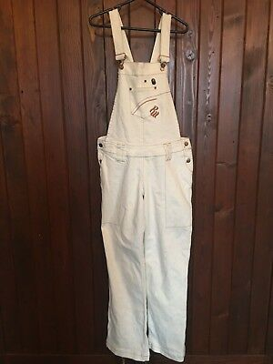 Rocawear White Vintage Overalls Size (Large) Brand New