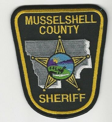 Musselshell County Sheriff State Montana MT patch