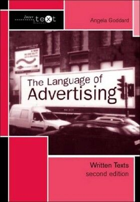 The Language of Advertising: Written Texts (Intertext) (Paperback...