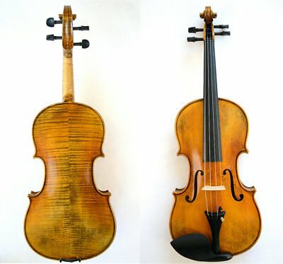 Great Violin #2660 Guarneri 1716 Messiah Violin Model Loud Sound