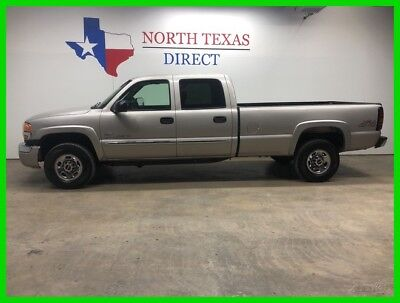 2005 GMC Sierra 2500 SLE 4x4 6.6 Diesel Manual Transmission Crew Cab Lo 2005 SLE 4x4 6.6 Diesel Manual Transmission Crew Cab Lo Used Turbo 6.6L V8 32V