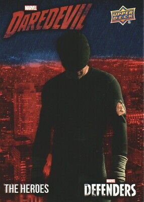2018 Upper Deck Marvel The Defenders Heroes Daredevil Insert Card #TH-DD2