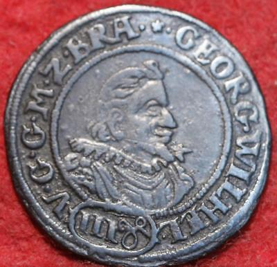 1623 German States 3 Groschen Foreign Coin