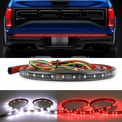 "60"" 108 Led Strip Bar Signal Brake Light Reverse For Toyota Chevy Ford Truck Suv"