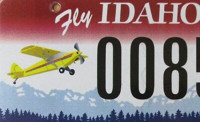 IDAHO - PILOTS PARADISE special license plate  AIRPLANE Graphic  00851I