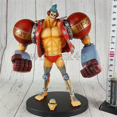 Franky Big Figure Figurine Grandline Men One Piece Anime Manga Authentic /5904