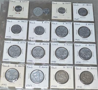 Poland Lot of 17 Coins