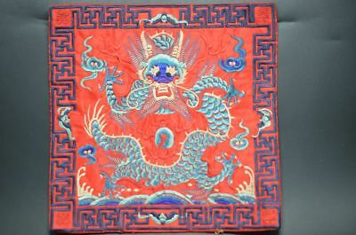 Antique Collection China Handmade Embroidery*dragon* ..