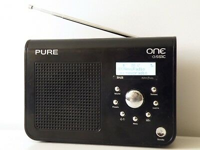 Pure One Classic Dab /fm Stereo Digital Radio Receiver, Very Good, Works Perfect