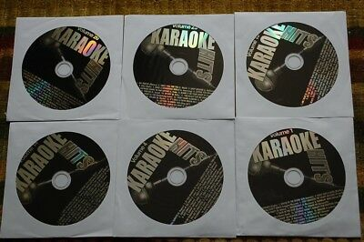 6 Cdg Lot Rock Oldies Karaoke Eagles,john Lennon Cd Music Cd+G *sale*