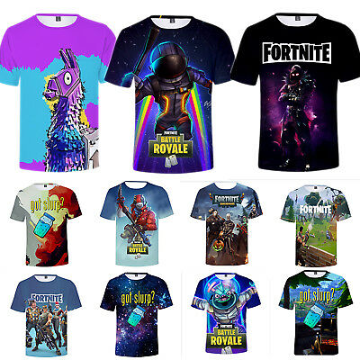 3D T-Shirts Fortnite Royale XBOX Gaming Men Unisex Printed Tee Shirt Playstation