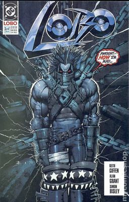 Lobo (1st Series DC) #3 1991 VF- 7.5 Stock Image