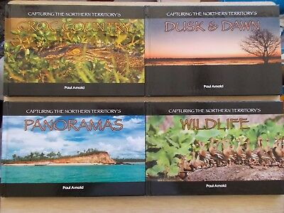 Capturing The Northern Territory~4 x 48pp H/Bs~Paul Arnold~Photography~2011