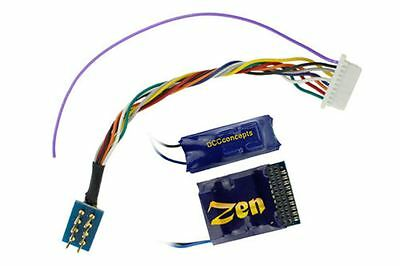 DCC Concepts DCD-Z218 ZEN 218 21 or 8 (lead) Pin 6 Function Decoder +Stay Alive