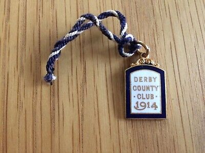 Derby Racecourse Members Badge : War Time Badge 1914