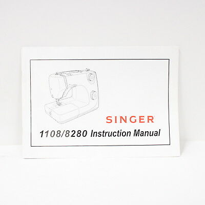 Singer Sewing Machine 1108/8280 Instruction Manual NO MACHINE INCLUDED #452