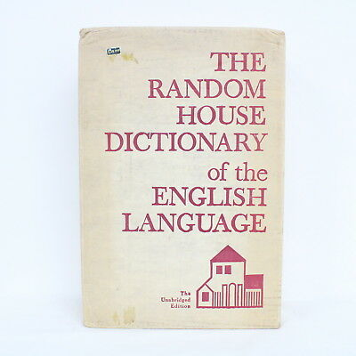 The Random House Dictionary of the English Language Book The Unabridged Ed. #454