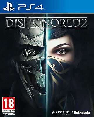Dishonored II (2)  (PS4) NEW SEALED PAL