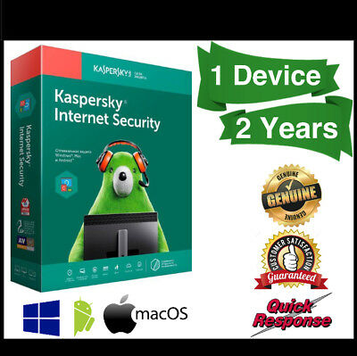 Kaspersky Internet Security 2019 1 Devices 2 Years For Windows PC