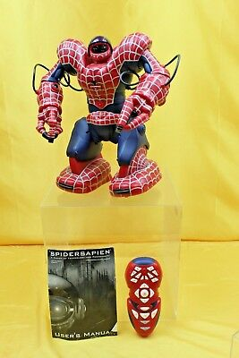 Spidersapien Spider Man 3 Remote Control Electronic Robot Large  ##rec 44 Lc