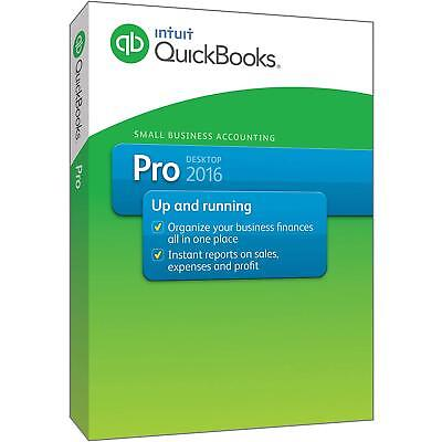 Intuit QuickBooks Pro Desktop 2016 Lifetime License Key Windows FAST Delivery